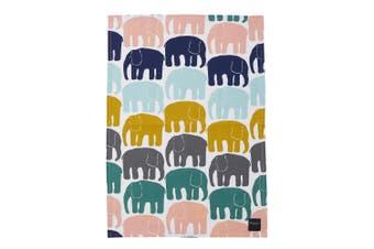 Finlayson Elefantti Tea Towel Multi-colour