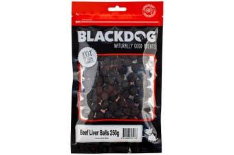 Blackdog Beef Liver Balls Dog Treat 250g