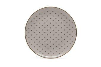 Salt & Pepper High Tea Porcelain Side Plate 20cm Taupe