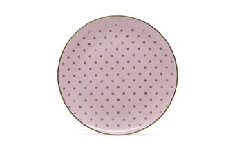 Salt & Pepper High Tea Porcelain Side Plate 20cm Pink
