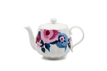 Salt & Pepper Willow New Bone China Teapot 800ml
