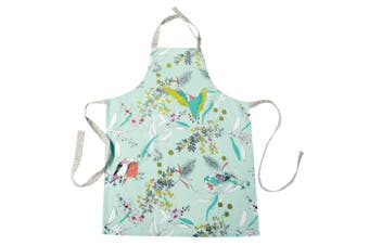 The Linen Press Organic Cotton Dawn Chorus Apron