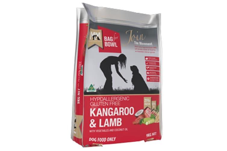 Meals For Mutts Dog Kangaroo & Lamb 9kg