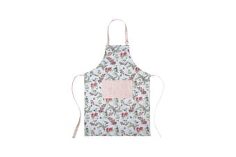 Ecology May Gibbs Blossom Apron with Pocket Blue & Pink