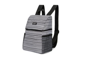 Packit Freezable Lifestyle Backpack 22 x 12 x 26cm Wobbly Stripes