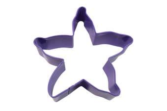 D.Line Tinplate Starfish Cookie Cutter 10cm Purple