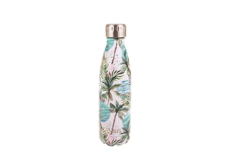 Oasis Insulated Stainless Steel Water Bottle 500ml Whitsundays
