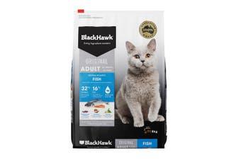 Black Hawk Cat Food Fish 8kg