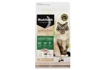 Black Hawk Cat Food Grain Free Chicken & Turkey 1.2kg