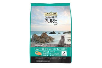 Canidae Cat Food Grain Free Pure Adult Kitten & Senior Sea 4.54kg