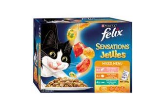 Felix Sensations Mixed Menu Cat Food 12x85g