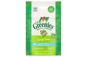 Greenies Feline Dental Treats Catnip Flavour 60g