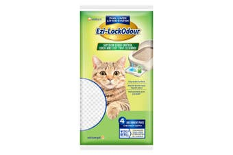 Ezi-LockOdour Cat Litter System Absorbant Cat Pads