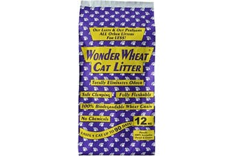 Wonder Wheat Cat Litter 12kg