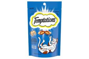 Temptations Savoury Salmon Cat Treat 85g