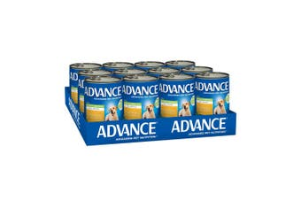 Advance Puppy Plus Growth Chicken & Rice 12x410g