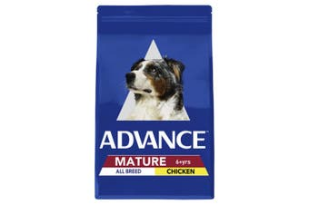 Advance Mature All Breed Chicken Adult Dog Food 15kg
