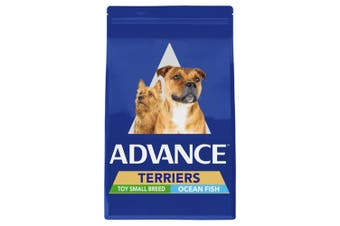 Advance Terriers Small Breed Ocean Fish Adult Dog Food 13kg