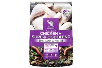 Billy & Margot Chicken Superfood Blend Dog Food 9kg