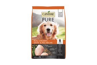 CANIDAE® PURE Real Chicken, Lentil & Pea Recipe Grain Free Dry Dog Food 10.8kg