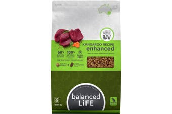 Balanced Life Enhanced Dry Dog Food With Kangaroo Meat Pieces 9kg