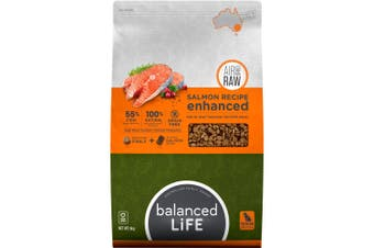 Balanced Life Enhanced Dry Dog Food With Salmon Meat Pieces 9kg