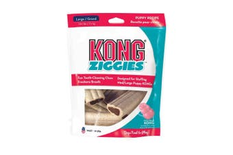 KONG Dog Treat Stuff'N Puppy Ziggies Large 225g