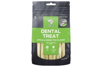 Billy & Margot Apple & Green Tea Small & Medium Dental Dog Treat 5 Pack