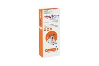 Bravecto Spot On Small Dog Orange 4.5 - 10kg 1 Pack
