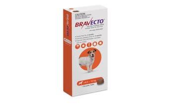 Bravecto Small Dog Orange 4.5 - 10kg