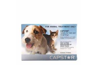 Capstar Flea Treatment Pack of 6 Tablet 11.4mg