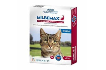 New Milbemax for Cats over 2kg
