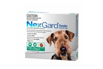 Nexgard for Large Dogs 10.1-25kg Pack of 3