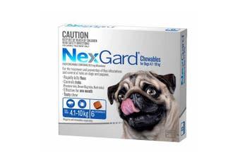 Nexgard for Medium Dogs 4.1-10kg Pack of 6