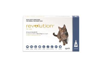 Revolution for Cats 2.6-7.5kg Pack of 3