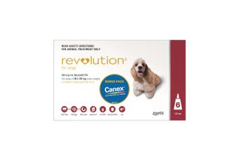 Revolution for Dogs 10-20kg Pack of 6