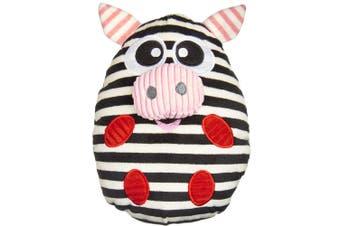 Gummi Percy Pig Black & White Dog Toy Large