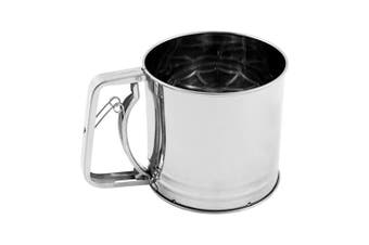Soffritto A-Series Stainless Steel 3 Cup Flour Sifter