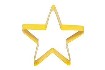 Soffritto Professional Bakeware Star Cookie Cutter Yellow 8cm