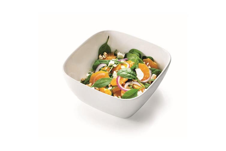 Ambrosia Zest Square Serving Bowl 25cm