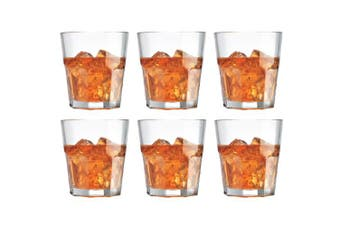 Cellar Facet Tumbler Glasses 280ml Set of 6