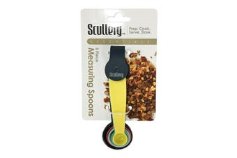 Scullery Essentials Measuring Spoons 5 Piece Set Colour