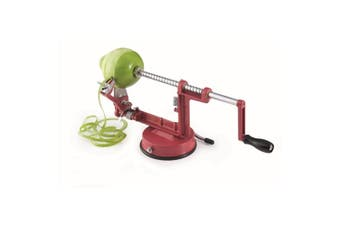 Scullery Essentials Apple Peeler Red