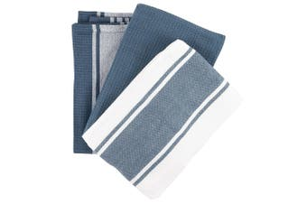Scullery Pura Tea Towel Set of 3 Grey