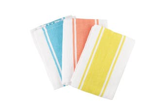 Scullery Pura Tea Towel Set of 3 Bright Stripes