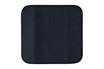 Scullery Pura Polyester & Foam Dish Drying Mat 40 x 45cm Dark Blue