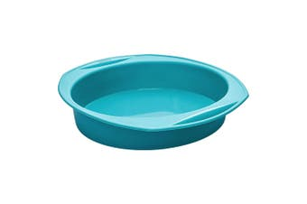 Scullery Kolori Silicone Round Baking Pan Teal
