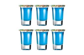 Cellar Tonic 6 Piece Shot Glass Set 34ml Clear