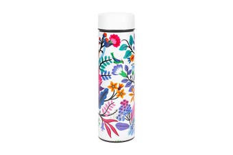 Ambrosia Aster Double Wall Stainless Steel Drink Bottle 450ml Floral
