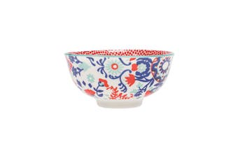 Ambrosia Aya Porcelain Rice Bowl 12cm Fan